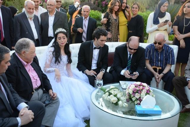 الفخرانى فى حفل زفاف هبة