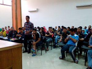 د كريمة الحفناوى فى لقاء مفتوح مع شباب الملتقى الثقافى التاسع بقصور الثقافة (5)