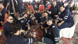 عمال النفط فى الكويت