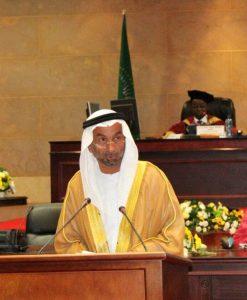 أحمد بن محمد الجروان رئيس البرلمان العربي أمام الجلسة الافتتاحية للدورة العادية الثانية لبرلمان عموم أفريقيا (1)