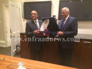 رئيس مجلس النواب مع رئيس  جمهورية جنوب أفريقيا (2) [800x600]