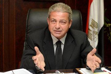وزير الشباب خالد عبد العزيز