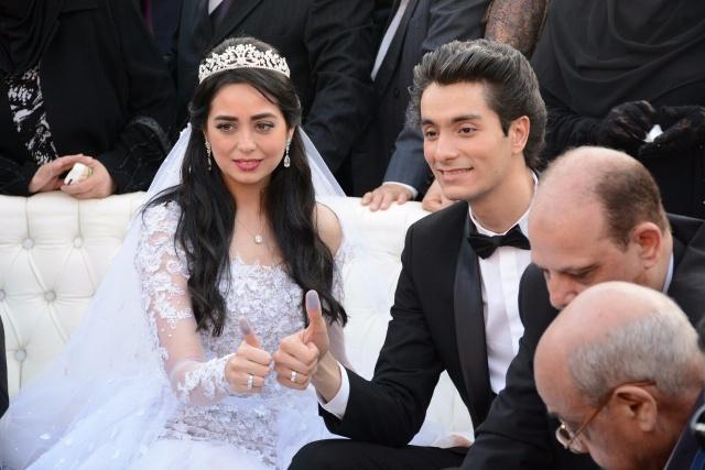 زفاف هبة مجدى