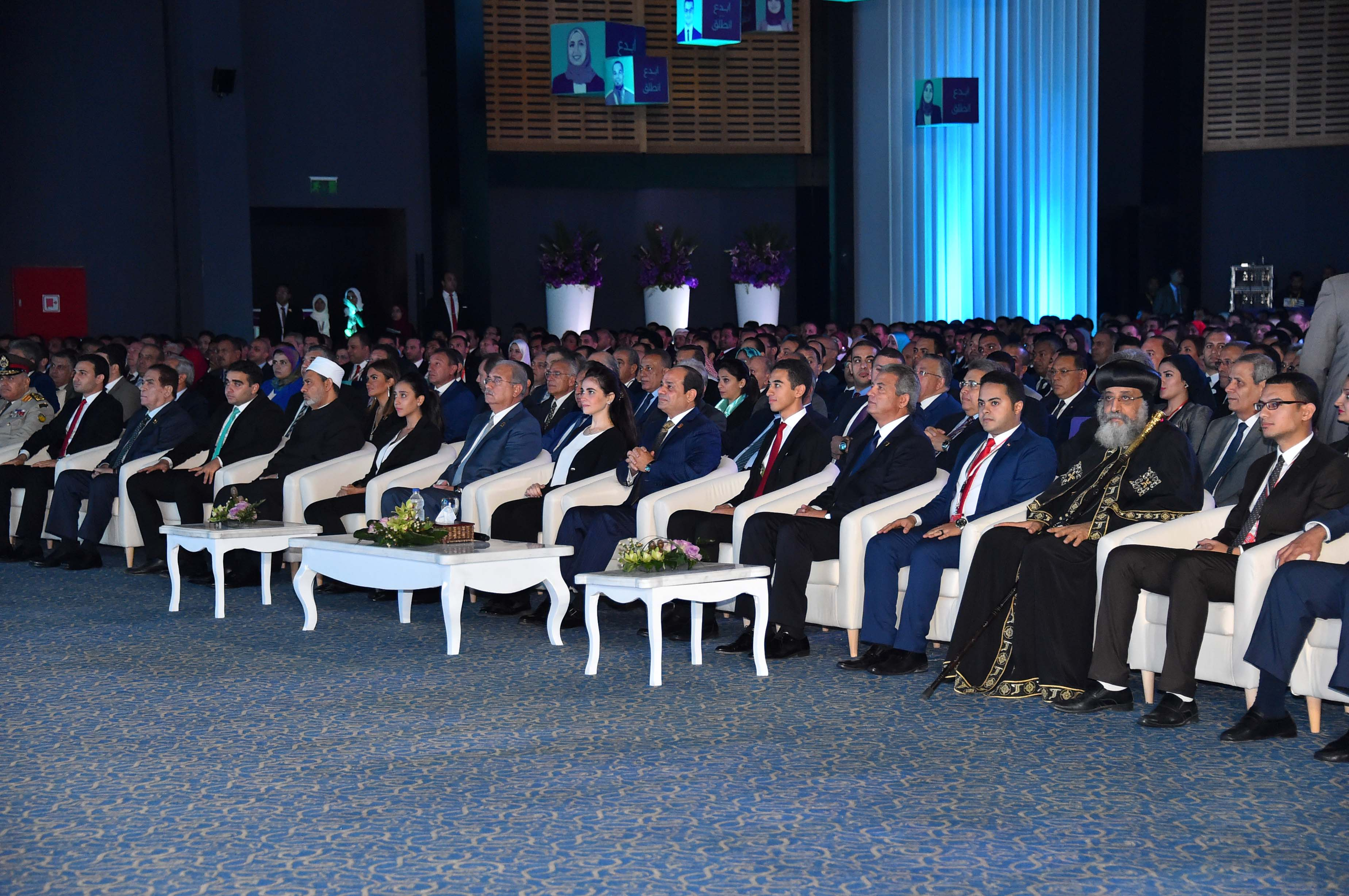 افتتاح مؤتمر الشباب (1)