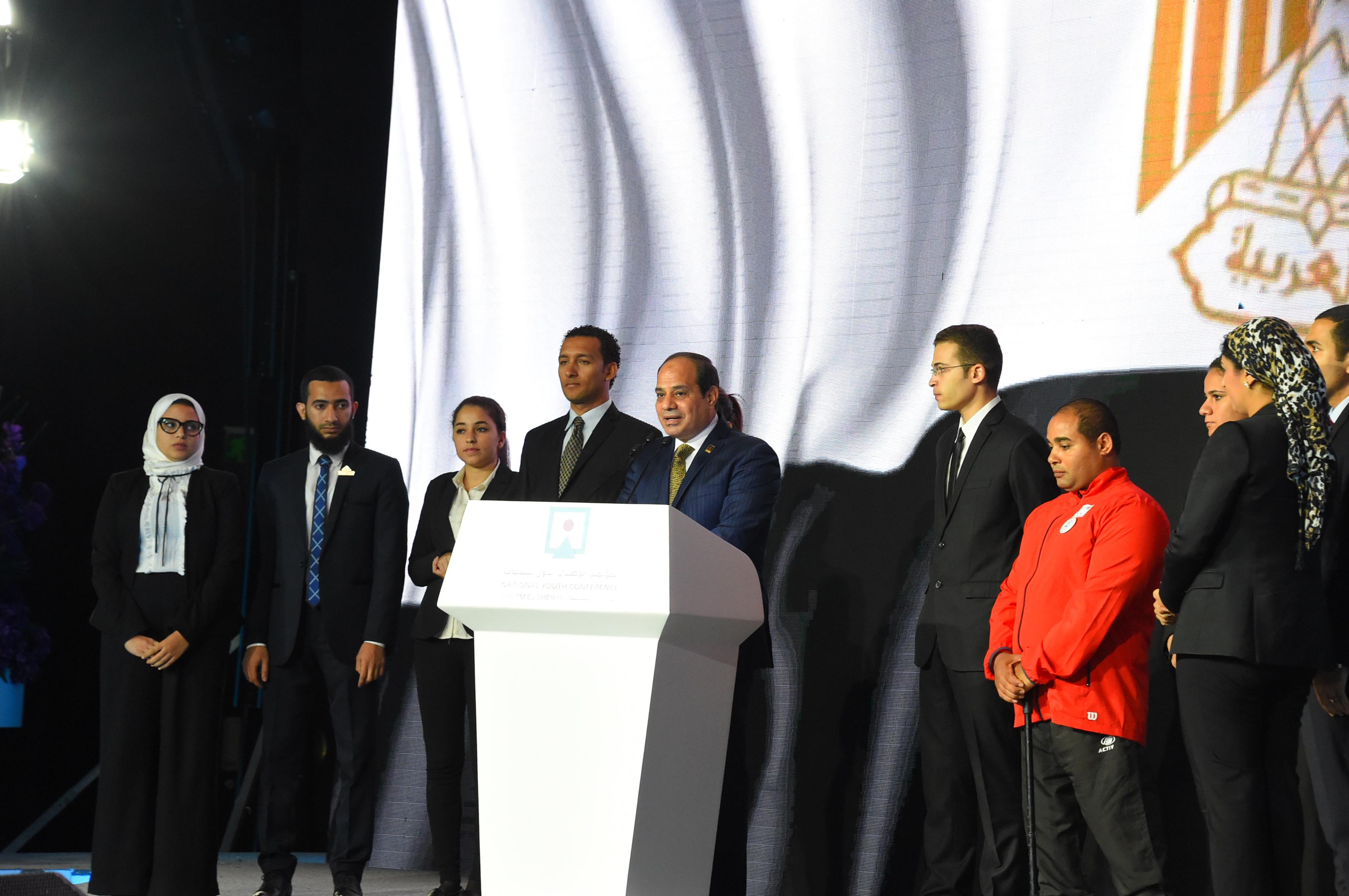 افتتاح مؤتمر الشباب (8)